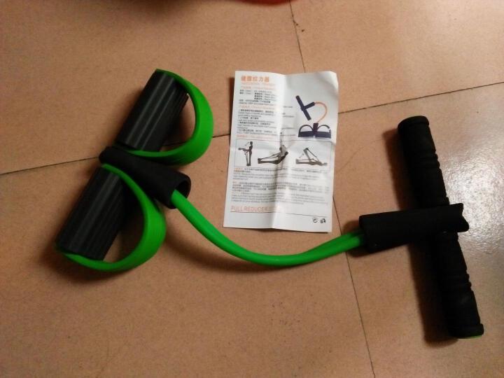 迈高登 仰卧起坐器脚蹬拉力器拉力绳健腹器家用运动健身减肥器材 绿色 晒单图