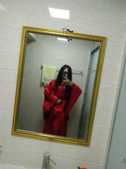 唐装戏服古装服装女仙女唐朝古代汉服演出服古典舞蹈公主贵妃女装 红色汉服女 M(建议身高160-168) 晒单图