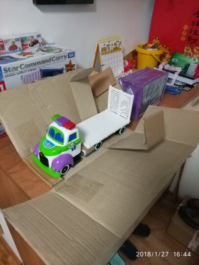 【动漫城】TOMY多美卡 合金车 玩具赛车总动员 汽车模型玩具 巴斯光年胡迪 麦坤 C-39 蓝天博士 821243 晒单图