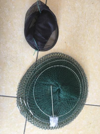 胶丝线鱼护软钢丝折叠鱼篓简易便携渔护鱼兜渔具渔网垂钓用品加长鱼护 6层 晒单图