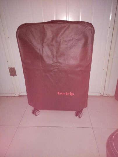 GOTRIP拉杆箱阿狸香港之旅系列旅行箱20英寸/24英寸/28英寸万向轮卡通个性旅行箱 16英寸(单向轮单拉杆) 晒单图