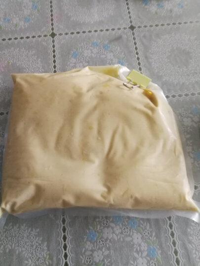 榴良优品 马来西亚进口猫山王 冷冻榴莲果泥 2kg 烘焙原料甜品披萨店 晒单图