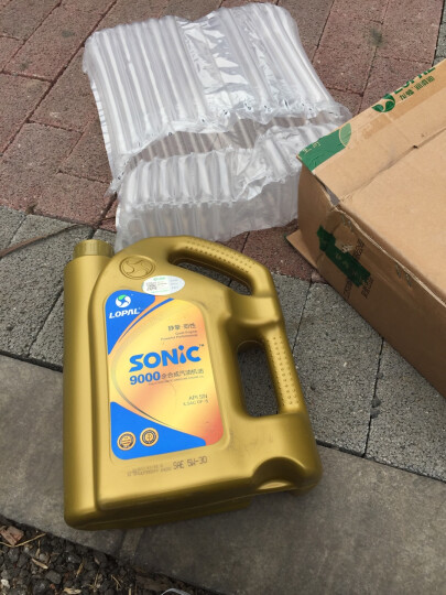 龙蟠 SONIC9000 SN级全合成汽车机油  发动机润滑油 5W-30 4L 晒单图