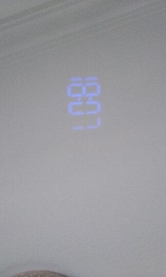 香港NiD 闹钟收音机时间温度投影钟表床头静音夜光学生电子钟创意儿童闹钟 黑壳 晒单图