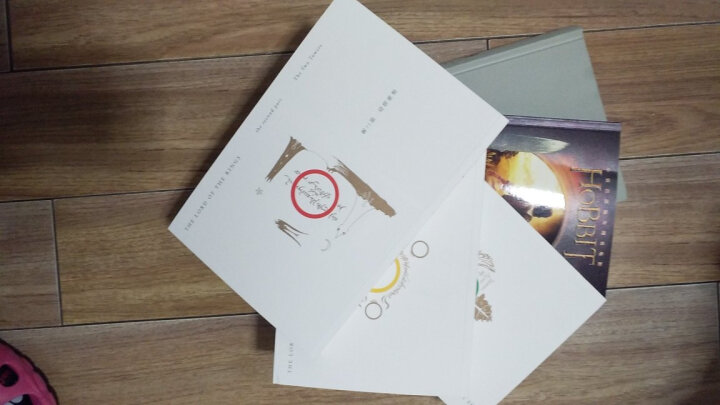 正版 精灵宝钻+霍比特人+指环王魔戒三部曲 全套共5册 指环王 全集 托尔金 晒单图