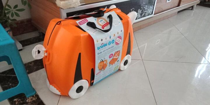 trunki儿童行李箱 卡通图案可坐骑拉杆储物箱 户外旅行箱18L-小老虎3岁以上 英国潮牌 晒单图