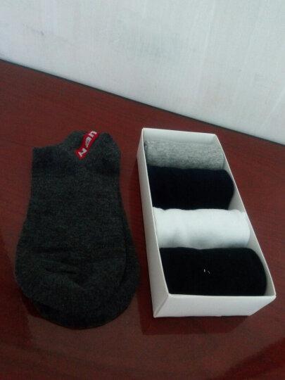 南极人 袜子男短袜防脱运动船袜男袜子男士棉袜5双混色礼盒装隐形袜 船袜时尚5双 晒单图