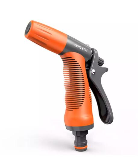 亿力 高压洗车水枪套装洗车器家用浇花水枪精密合金防锈枪头 飞豹水枪 10米水管套装 晒单图