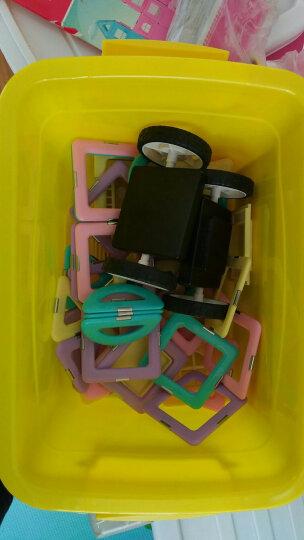 魔磁玩家(MAGPLAYER)大号6.5CM精钢磁力片60件套装 磁力片积木益智拼插玩具 儿童磁力片玩具 晒单图