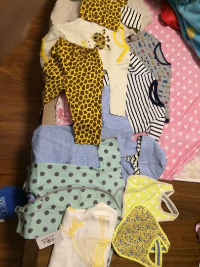 千趣会(senshukai)婴儿男女双层护肚围小物两色组GITA A75812 薄荷绿/蓝色 19*16 晒单图