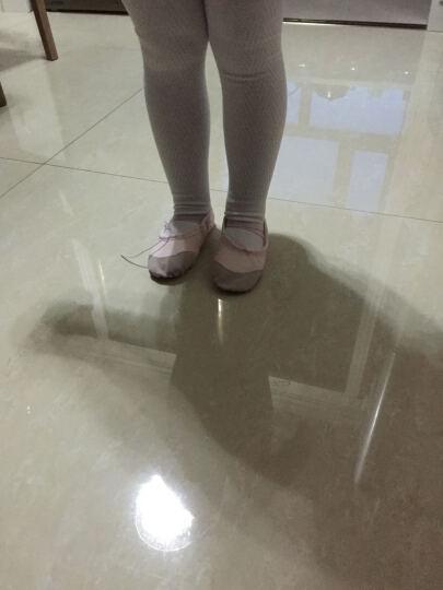 塞纳伽女童连裤袜秋冬加厚全棉儿童舞蹈袜子白色女童打底裤加绒宝宝冬季厚袜子 黑色 5-9岁 身高105-120 晒单图