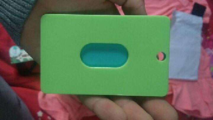 塑料公交卡套 证件钥匙扣方形立体卡包 地铁门卡 员工饭卡 熊猫 晒单图