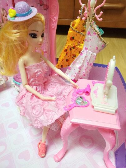 情景玩具屋女孩换装芭比娃娃迷糊娃娃套装礼盒洋娃娃 赠品三 晒单图