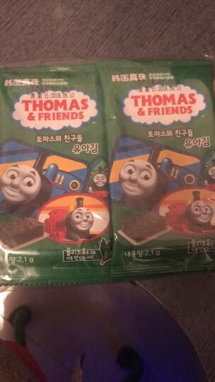 小火车 托马斯和朋友(Thomas&Friends)韩国进口 橄榄油海苔2.1g×10包 晒单图