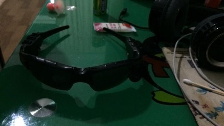 现代演绎 运动蓝牙耳机无线头戴式苹果华为通用隐形车载智能眼镜太阳镜 蓝牙耳机眼镜-黑色 晒单图