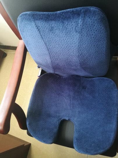 佳奥 负离子乳胶靠枕腰垫 办公室汽车腰靠靠背 靠枕 晒单图
