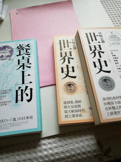 宮崎正勝飲食世界史 (3冊合售) :酒杯裡的世界史/ 餐桌上的日本史/ 餐桌上的世界 晒单图