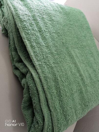 配发毛巾被军迷用陆空毛巾毯单人毛毯空调被军绿毛巾被545027370623 浅军绿(仿品) 150cmX200cm 晒单图