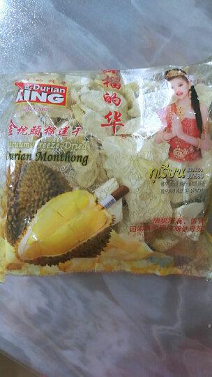 榴的华 泰国进口 金枕头榴莲干 100g 果干果脯 休闲零食 泰国零食 晒单图