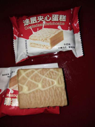 葡记 牛奶巧克力涂层夹心蛋糕整箱礼盒装 早餐面包糕点 1000g 晒单图