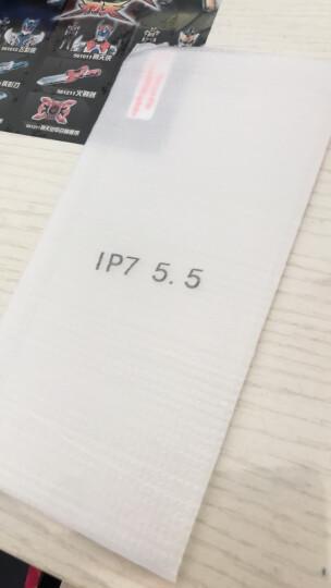 蝶尊 苹果7plus手机壳男女款iPhone8plus保护套全包软壳 黑底桃花女神+花手绳+钢化膜 晒单图