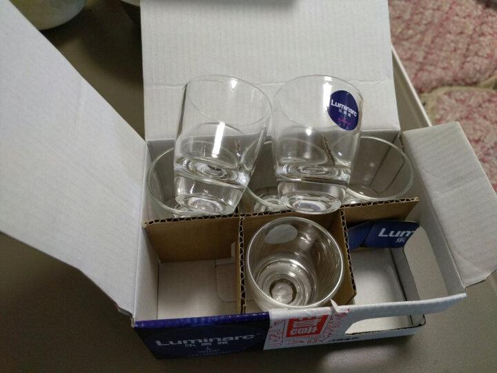 乐美雅(Luminarc)洋酒杯 白酒杯 玻璃杯 烈酒金杯6件套50ml G9058 晒单图
