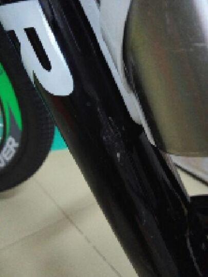 永久(FOREVER) 永久CF850型森林狼铝合金碟刹/破风高刀圈/禧玛诺21速26吋 黑绿色 26吋 晒单图