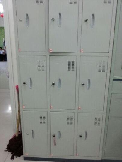 威林豪森 四门更衣柜铁皮储物柜六门挂衣柜员工储物柜厂家直销全国配送 晒单图