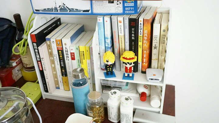 月池家居 无漆创意办公简易书架 桌上小书架置物架储物书架子1q 巴洛克中号 晒单图