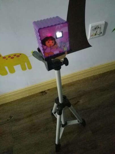 爱探险的朵拉 朵拉智能儿童投影仪故事机学习机婴幼儿宝宝益智玩具早教投影机儿童生日礼物 经典款P50粉色(16G)+三脚架+幕布 晒单图