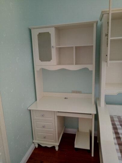 树之家 电脑桌台式书桌书柜组合 1米直角书桌+转椅/安装 晒单图
