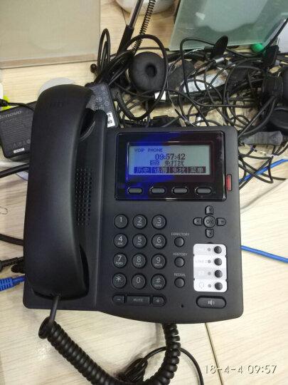 eComm VOIP电话机 IP网络电话机 EP58 Plus SIP彩屏电话机 支持POE和电源供电,不含电源 晒单图