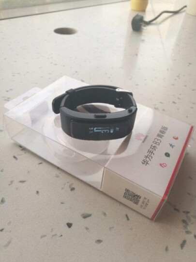 华为(HUAWEI)智能手环B3 蓝牙耳机  接电话 计步 卡路里 睡眠 闹钟 青春版 蓝色版 晒单图