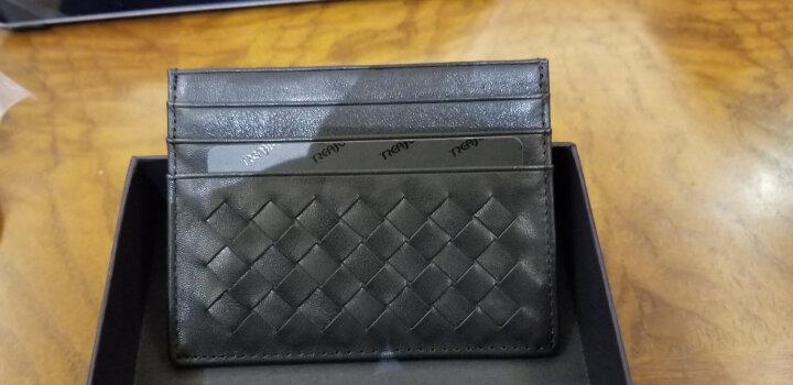颗粒归仓KLGC 卡包名片夹男银行卡夹真皮证件卡套超薄卡片包迷你小零钱包女 粉红色 大号 晒单图
