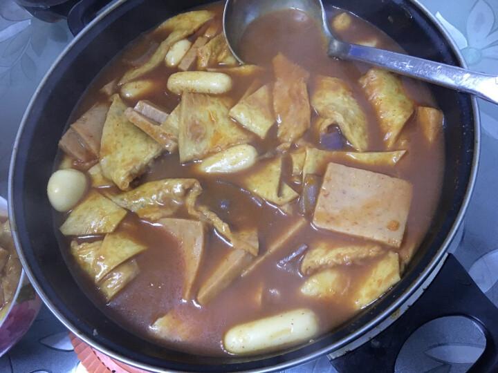 韩式芝士年糕夹心拉丝韩国部队火锅食材 500g (送辣椒酱) 原味芝士 晒单图