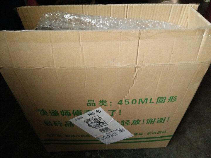 采易(MINING EASY) 一次性饭盒外卖打包盒塑料透明盒pp食品加厚快餐便当带盖 圆形50套含盖 容量1000ml 晒单图