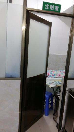 透光不透明自粘磨砂贴纸玻璃贴膜防爆膜浴室卫生间移门窗户贴防晒 墙贴装饰贴纸 普通纯磨砂 60厘米宽/每米 晒单图