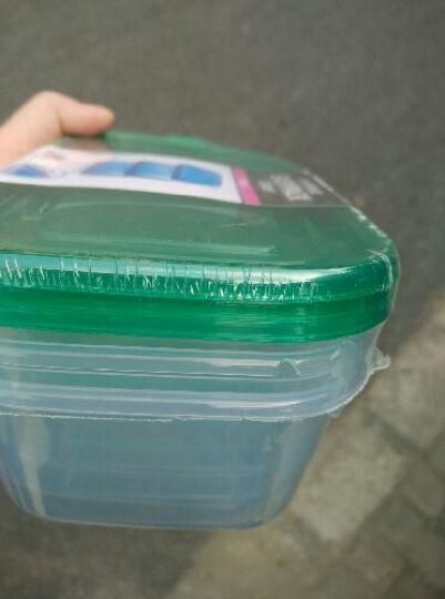 乐亿多保鲜盒套装微波加热饭盒便当盒收纳盒欢乐叠六件套 HLD309*2 晒单图