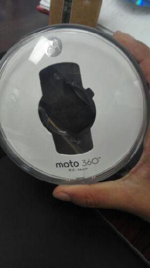 摩托罗拉 新一代Moto 360 Sport智能运动手表 (45毫米 硅胶表带 全天候混合背光显示屏 内置GPS ) 冰原白 晒单图