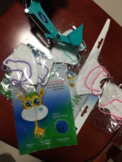 鲜行者 Airwalker 美国进口滤材女士防护口罩 女士适用 防PM2.5防雾霾 耳带式 6只装 晒单图