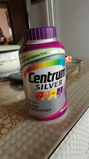 善存(Centrum)银片 50岁以上中老年女性复合维生素 250粒(美国进口) 晒单图