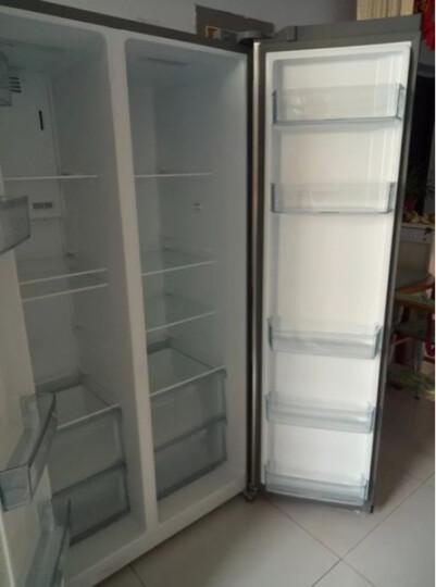 宝普(BAOPU) BCD-518WP对开门电冰箱变频风冷无霜超薄双门 香槟金 晒单图