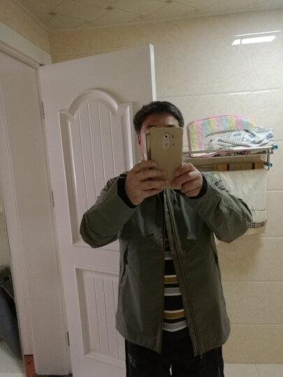 奥索卡(OZARK) OZARK/奥索卡男士户外秋冬三层压胶夹克风雨衣冲锋衣 135266 海深蓝色/ XL/180 晒单图