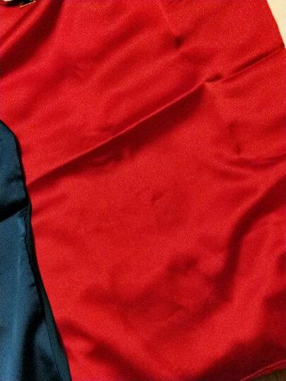 妍祺吊带小背心女时尚内搭打底上衣仿真丝大码外穿网纱小衫 红色 3XL 晒单图
