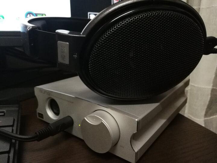 aune X7S 甲类耳放 耳机放大器 高保真大驱动平衡单端双输出 三挡增益 HiFi小型台式耳放 X7S 2018新款 银色 晒单图