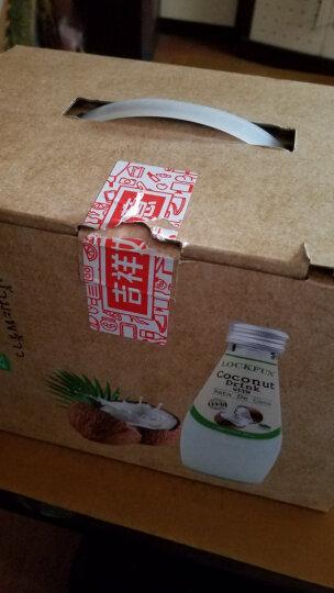 泰国进口 乐可芬 LOCKFUN 椰子汁饮料(含椰果) 290ml*6瓶 晒单图
