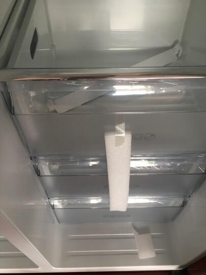 【99新】容声 649升对开门冰箱 无霜变频 双循环制冷 BCD-649WKS2HPMA 金色 晒单图