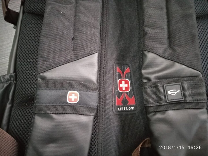 SWISSGEAR双肩电脑包15.6英寸电脑背包男女多功能防泼水商务旅行书包 SA-9898棕色 晒单图