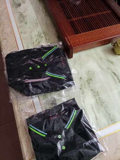 工作服定制t恤 班服定制短袖 企业polo衫定制公司t恤文化衫印字刺绣 大红色 M(建议80斤-100斤) 晒单图