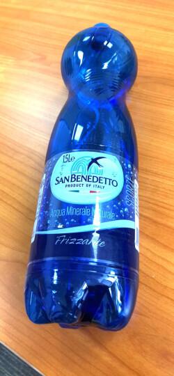 圣碧涛(San Benedetto)矿泉水意大利进口圣碧涛天然矿泉水塑料瓶高端矿泉水 圣碧涛含气1.5L*6瓶塑料瓶蓝色瓶 和白色瓶随机 晒单图